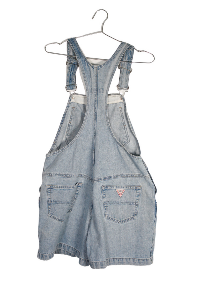 Vintage Guess Denim Short Overalls