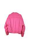 Hot Pink Levi's Authentic Shearling Jacket