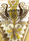Paisley Yellow Scarf Top