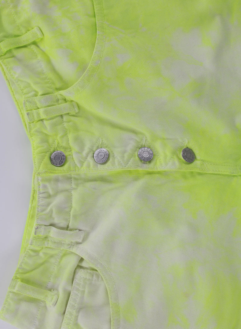 A Guess Shorts Neon Dyed