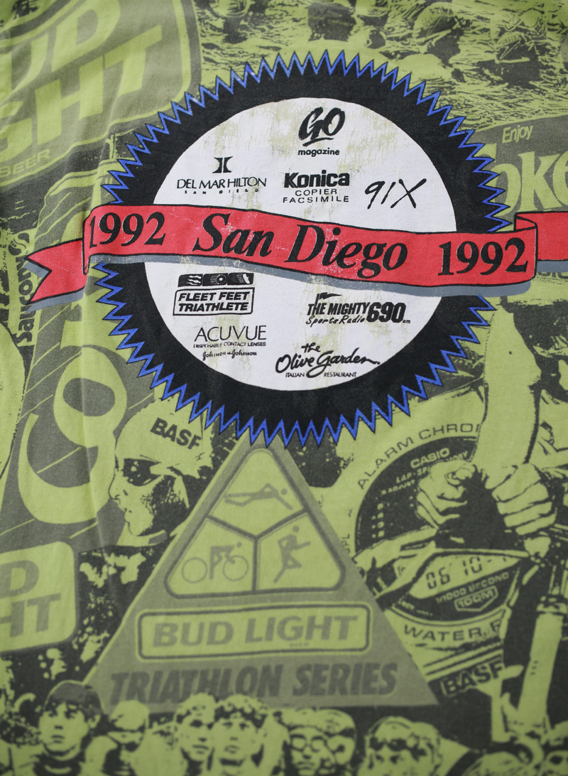 Vintage 92' Budlight Triathlon Series Tee