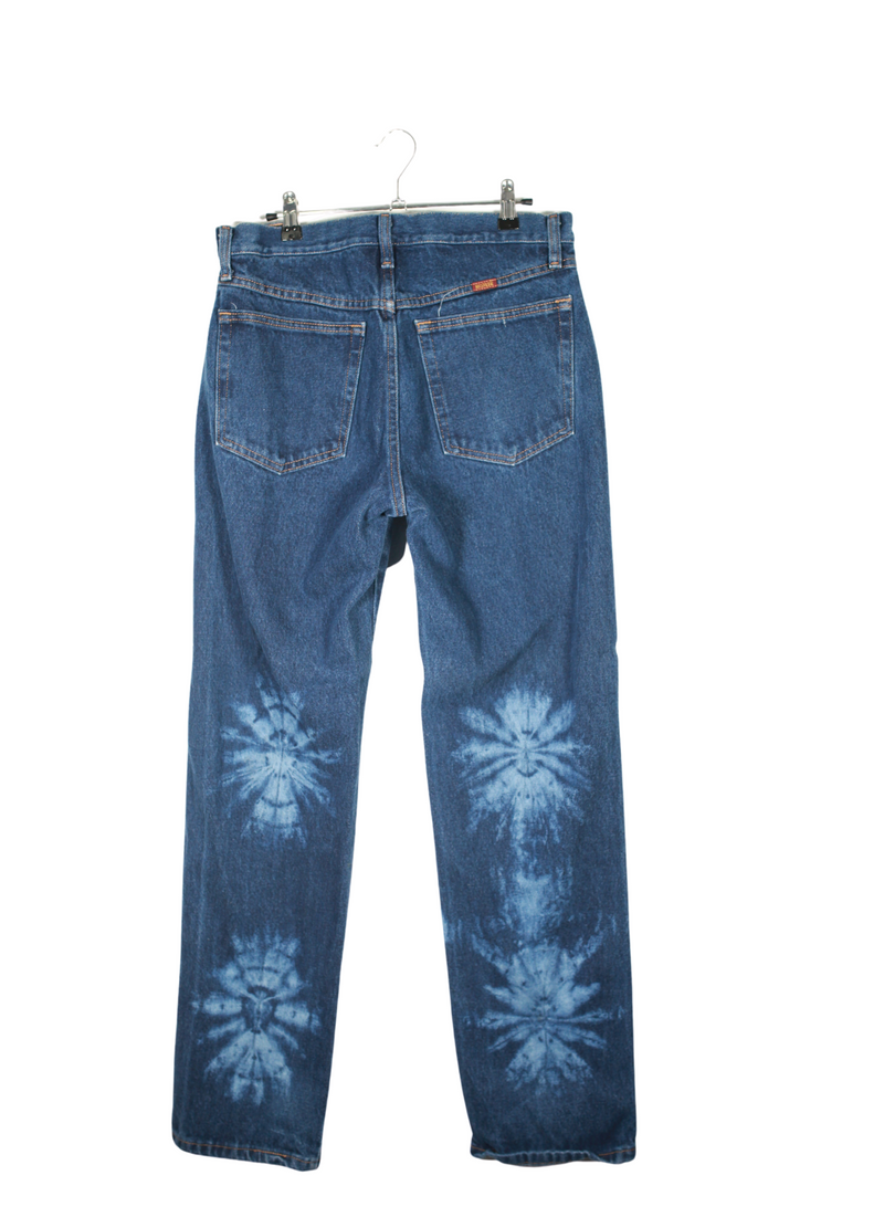 Vintage Rustler Painted Denim Jeans