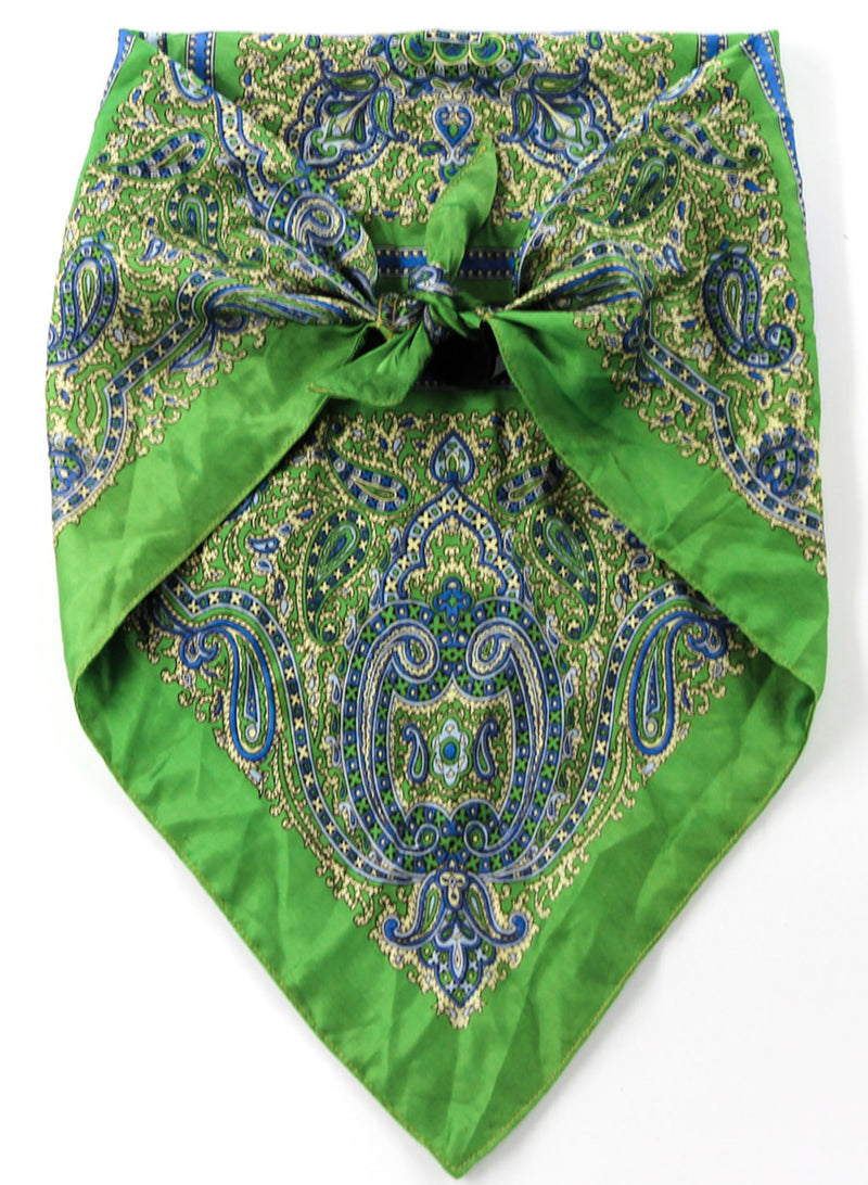 A Green Scarf Top