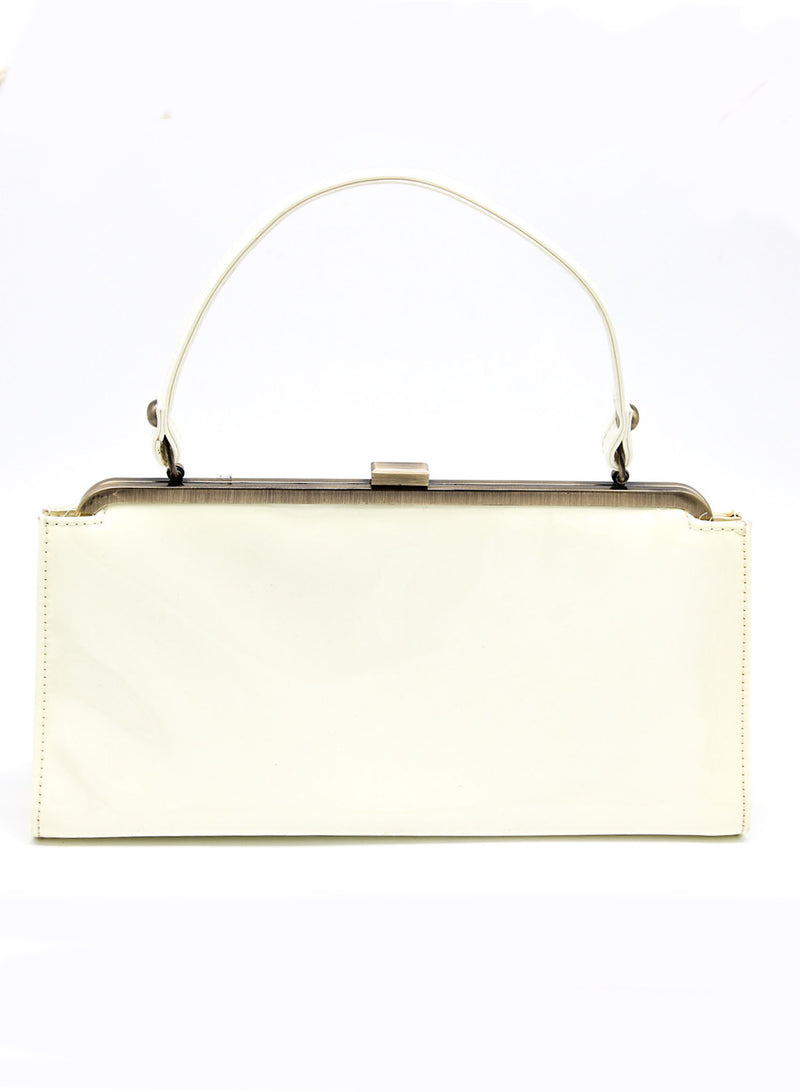 Cream White Shoulder Minibag