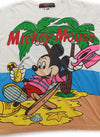 Mickey Mouse Chilling on Island