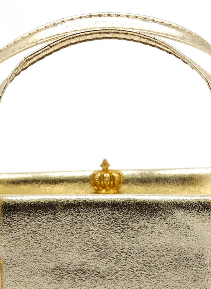 Golden Shoulder Bag
