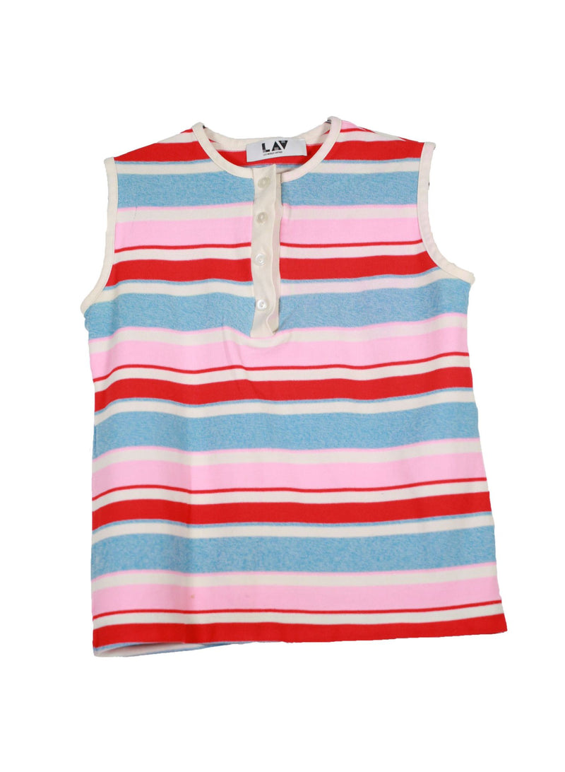 Vintage Striped Cotton Candy Tank