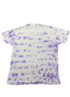 Purple Tye Dye David Taylor Tee