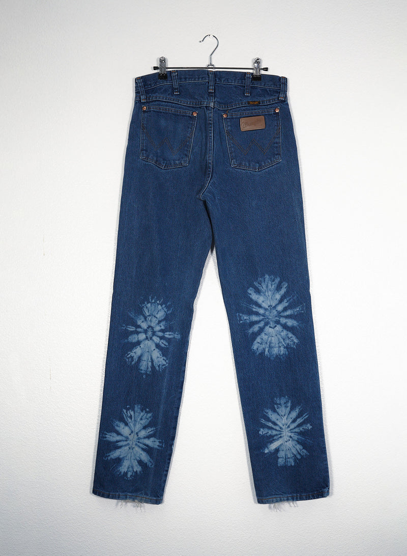 Wrangler Floral Tie Dyed Jeans