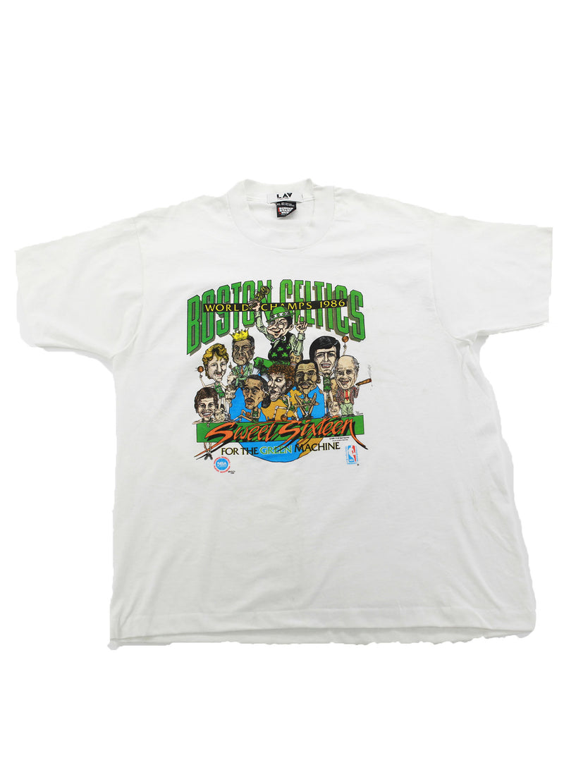 Boston Celtics World Championship 86' T Shirt