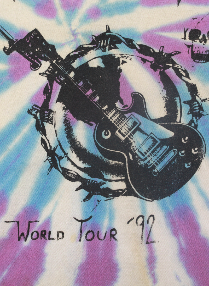 Def Leppard World Tour 92' Vintage Tee