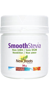 NEW ROOTS-SMOOTH STEVIA EN POUDRE