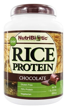Protéine de riz crue. Chocolat/ Nature .Nutribiotic