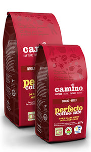 CAMINO- CAFÉ PERFECTO DARK ROAST ÉQUITABLE BIO EN GRAINS