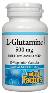 NATURAL FACTORS-L-GLUTAMINE 500 MG