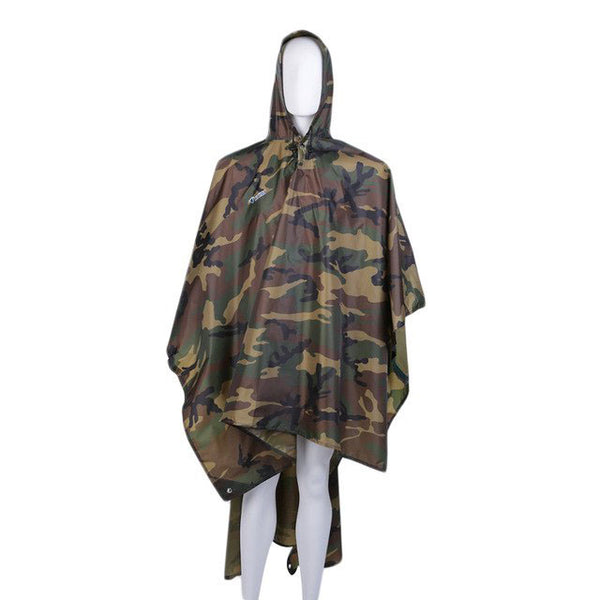Poncho Imperméable Camouflage