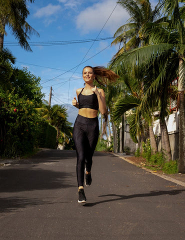 Let's go for a run with sustainable leggings Ambiletics