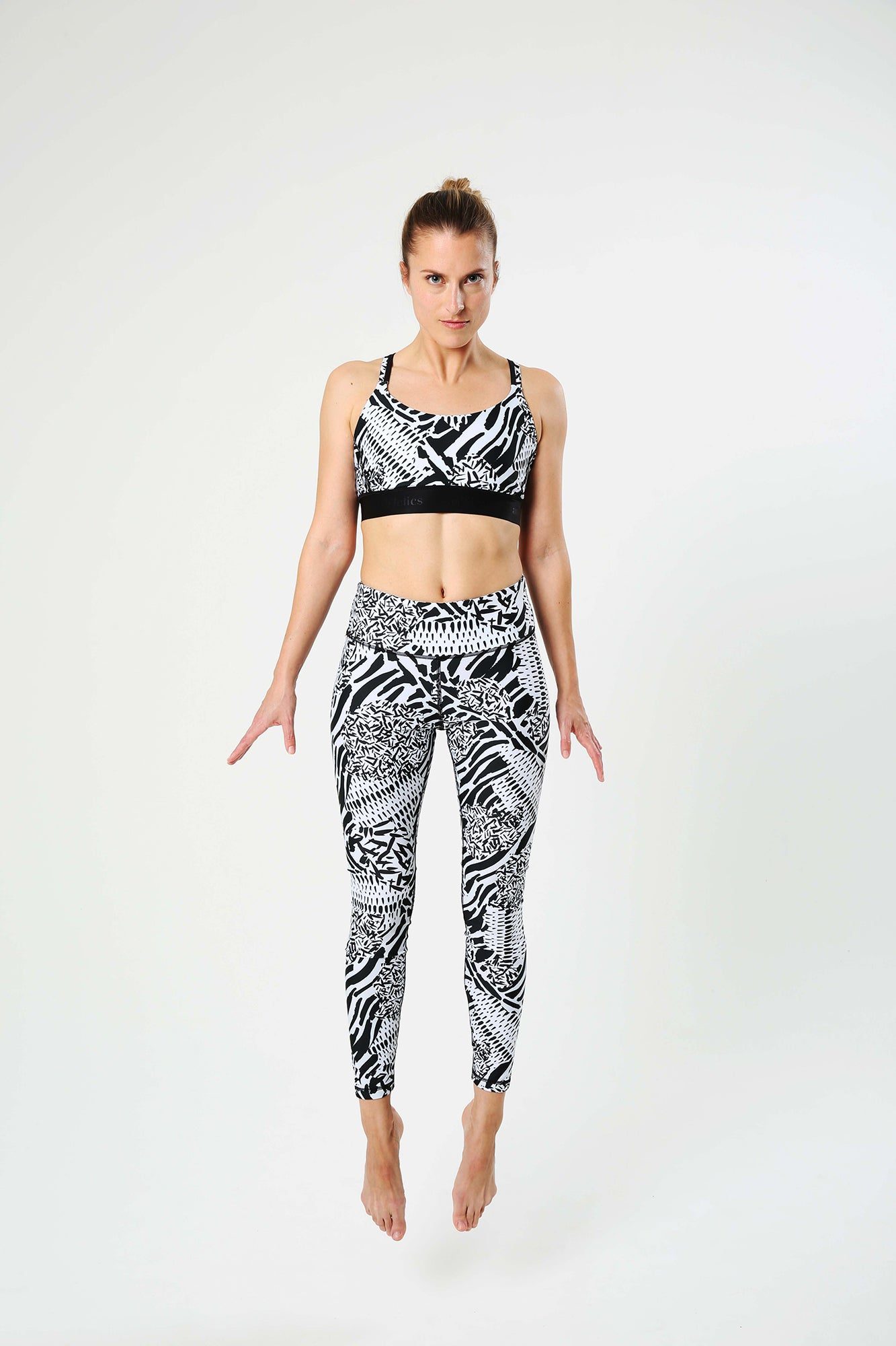 Zebra Zoom Leggings