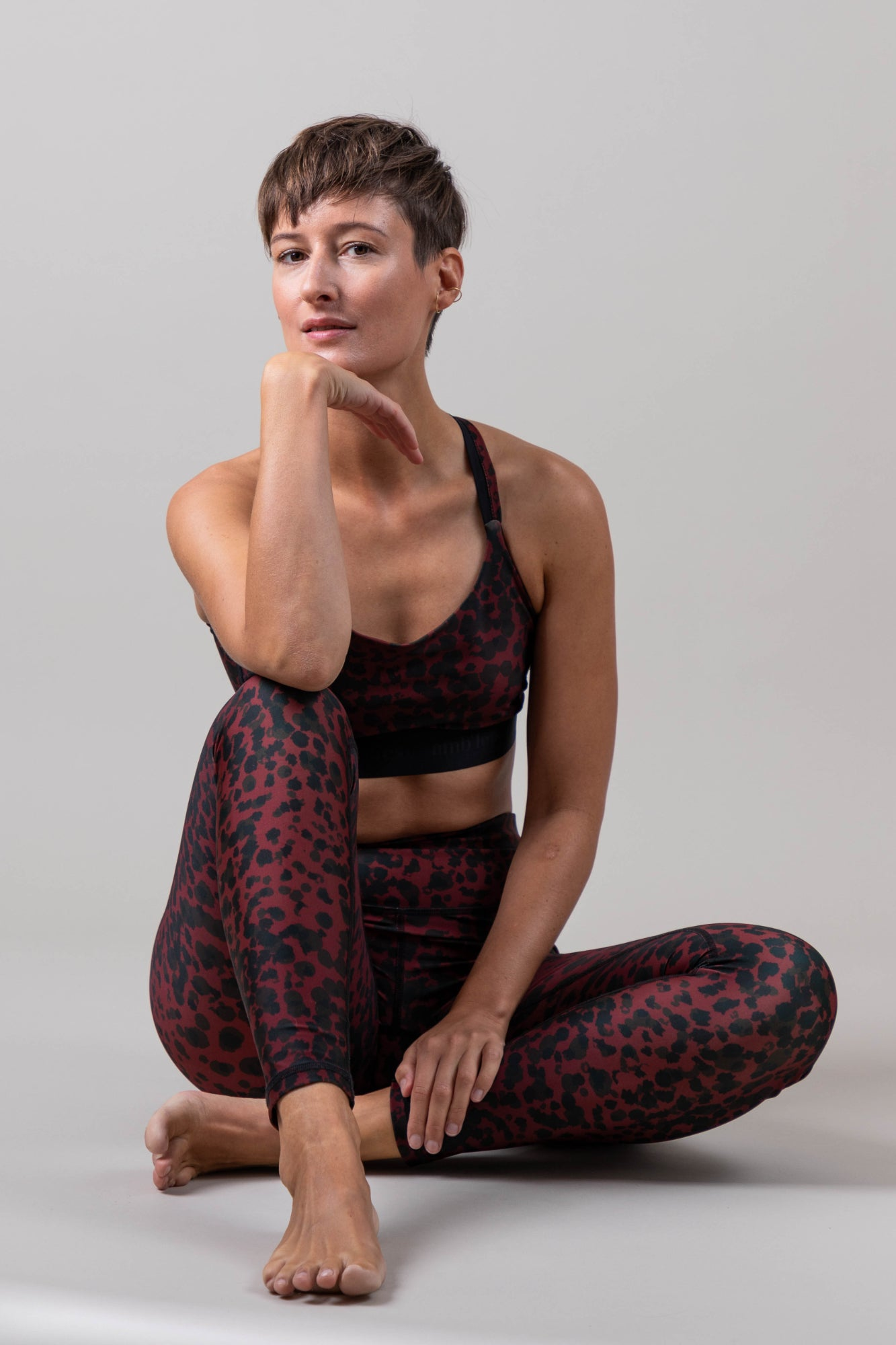 Sunset Glow Leopard Leggings
