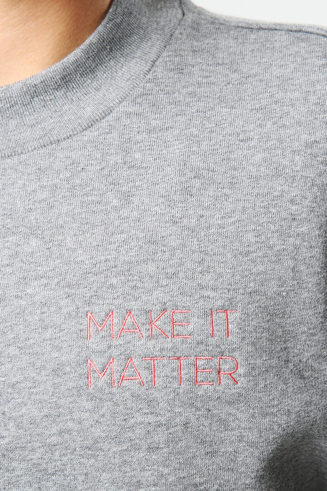 Make It Matter Sweater