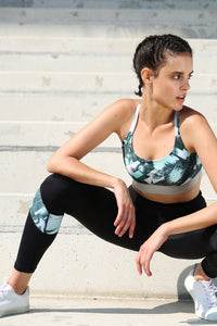 Power Leggings Tropical Tension