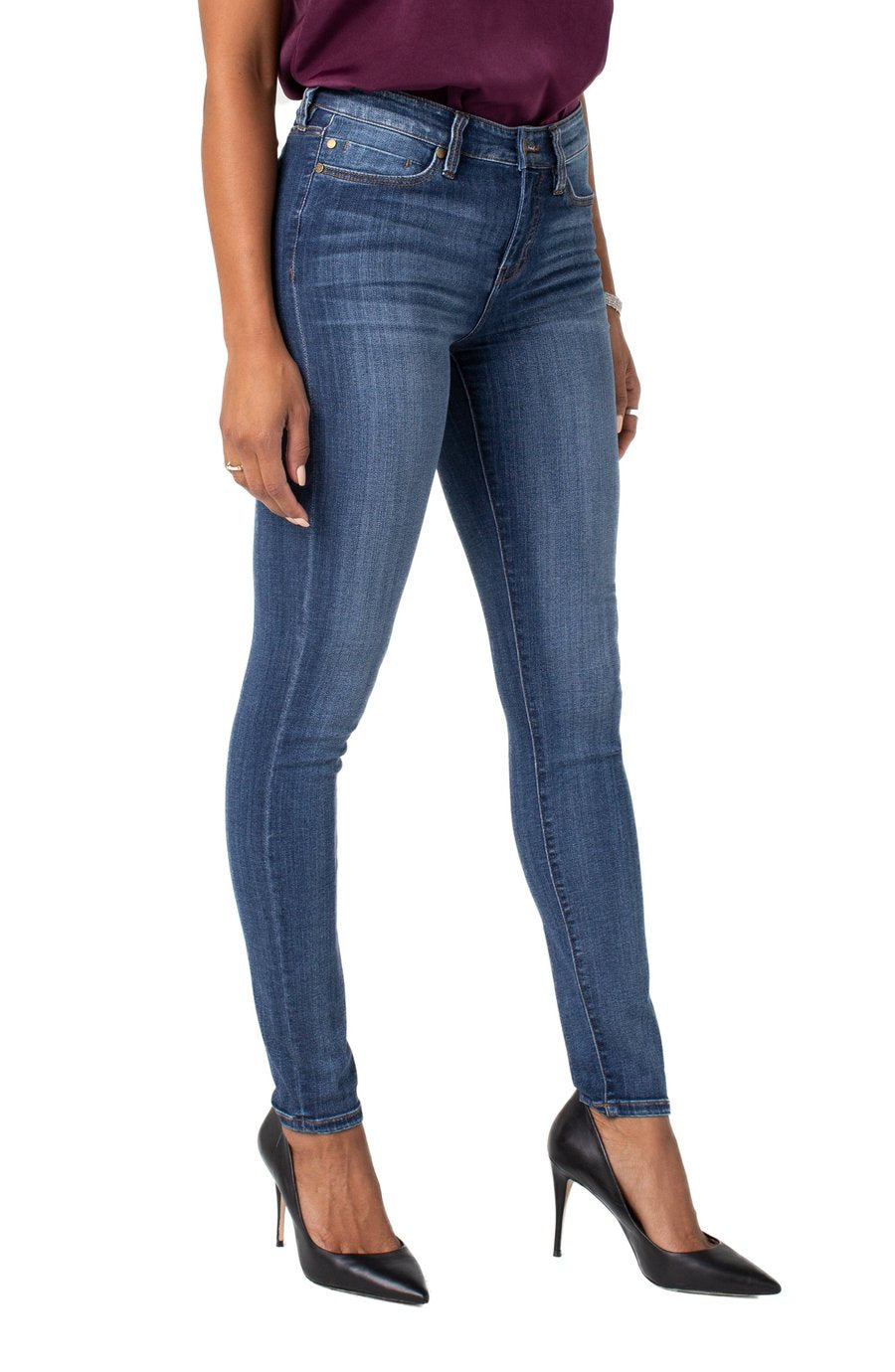 "Liverpool Abby Skinny Jean 30""in - Victory"