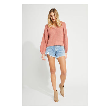 Gentle Fawn Harris Sweater - Dusty Pink