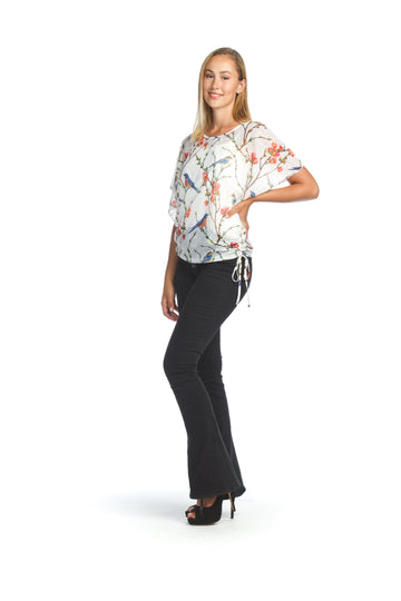 Papillon PT-07058 Garden Printed Top