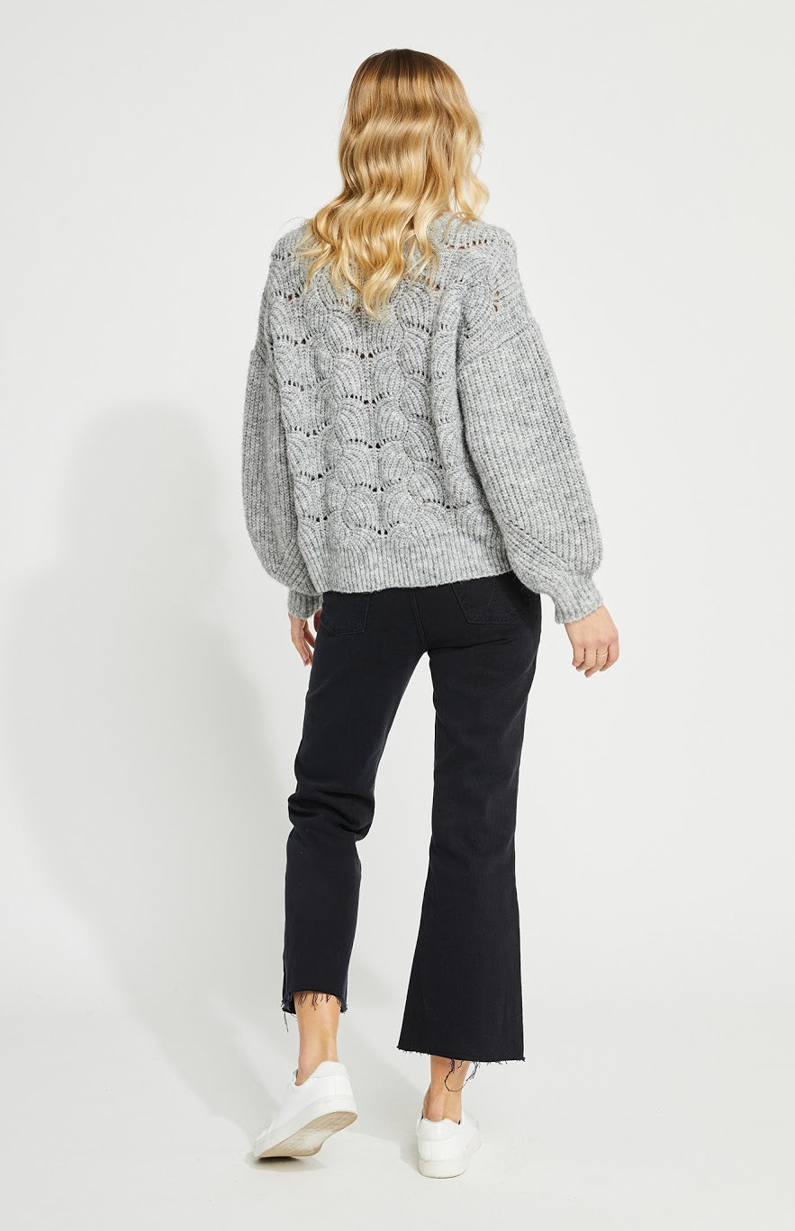 Gentle Fawn Serenity Sweater - Light Grey