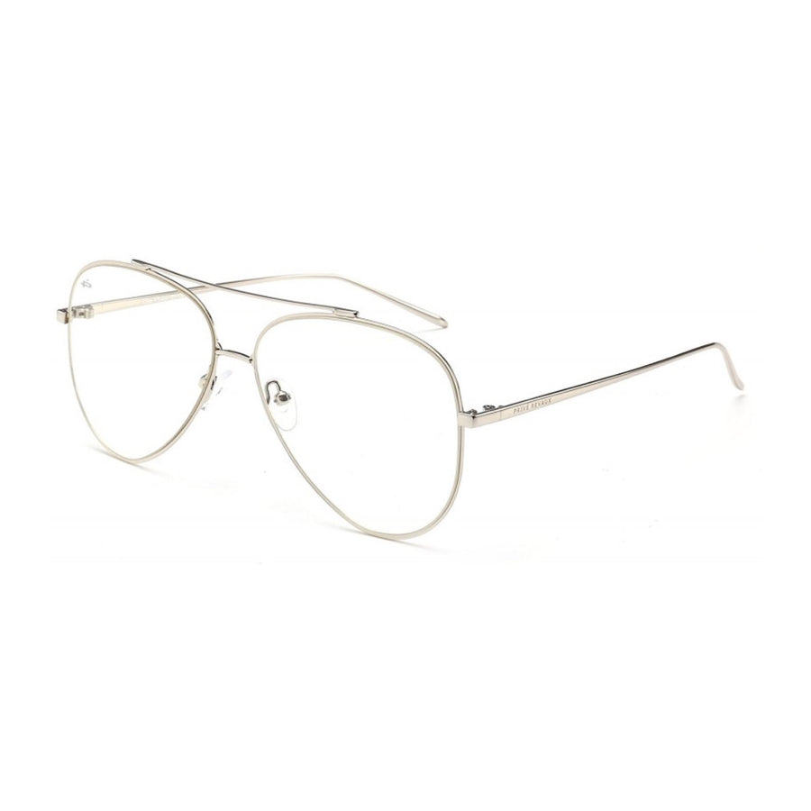 Prive Revaux The Philanthropist Blue Light Glasses - Silver
