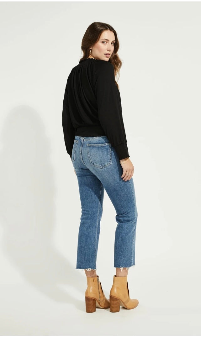 Gentle Fawn Brooke Blouse - Black