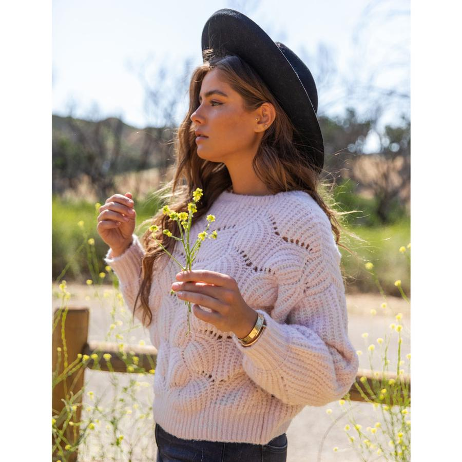 Gentle Fawn Serenity Sweater - Dusty Rose