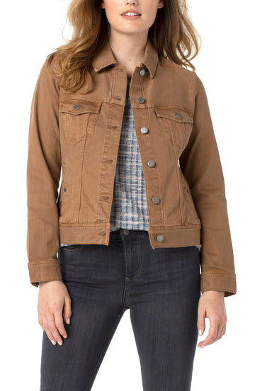 Liverpool Classic Jean Jacket - Brown Bay