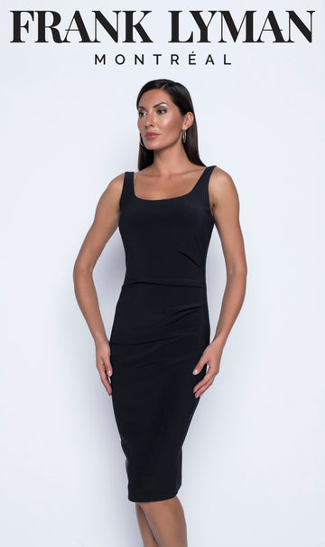 Frank Lyman 196065 Black Knit Dress