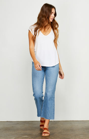 Gentle Fawn Nora Top - White