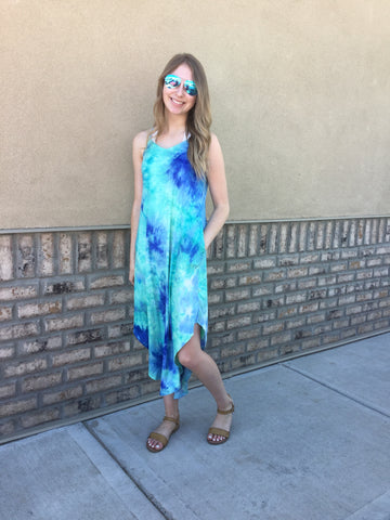 Papillon PD-05645 Tie Dye Maxi Dress