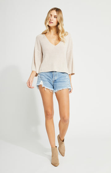 Gentle Fawn Nino Sweater - H. Light Oatmeal