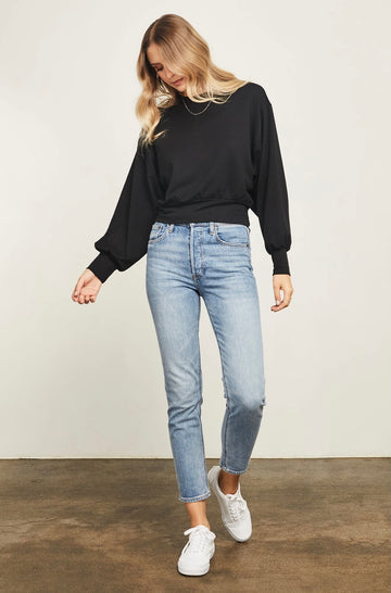 Gentle Fawn Ava Sweatshirt - Black
