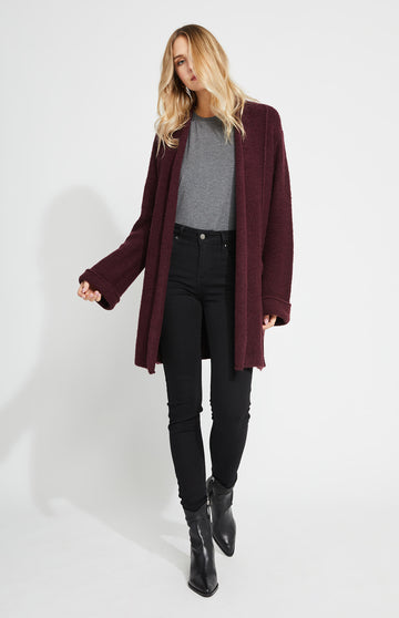Gentle Fawn Britton Cardigan - Burgundy