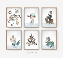 Load image into Gallery viewer, Pirates - set of 6