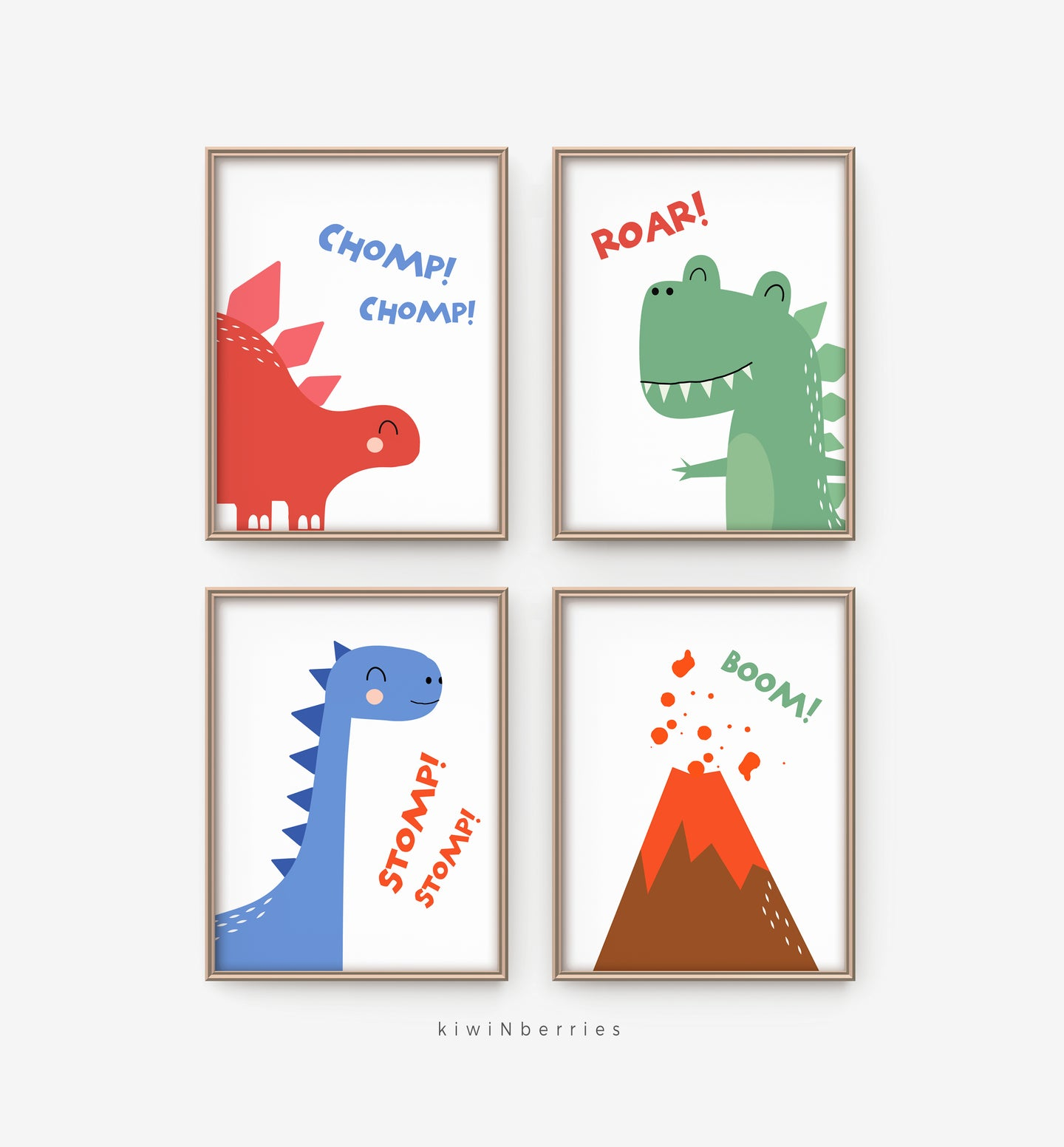 Roar DInos - set of 4