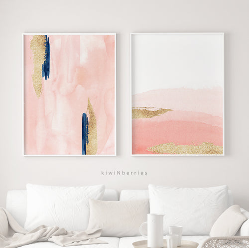 Abstract Watercolors - set of 2
