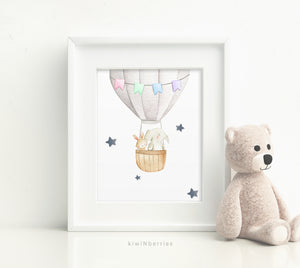 Air Balloon with Elephant