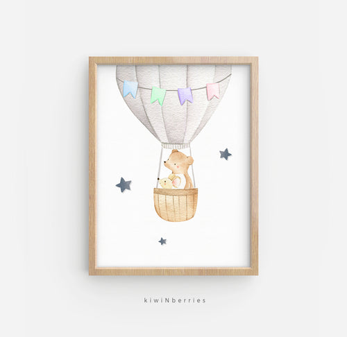 Air Balloon with Bear