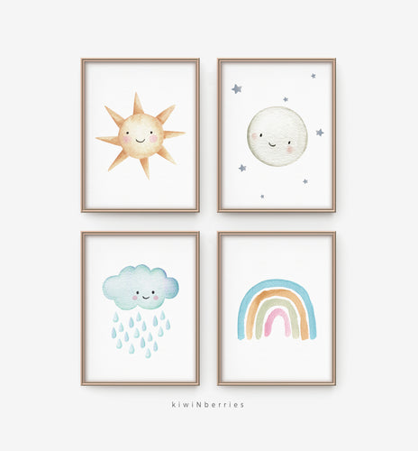 Baby Weather - set of 4