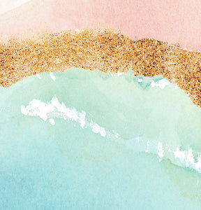 Abstract Pink Beach