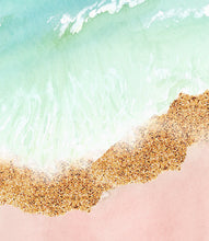 Load image into Gallery viewer, Abstract Pink Beach - set of 2