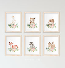 Load image into Gallery viewer, Animals over Florals