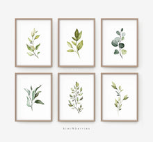 Load image into Gallery viewer, Botanical - set of 4
