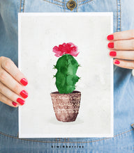 Load image into Gallery viewer, Potted Cactus